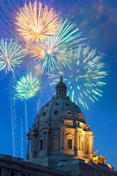 capitol fireworks #1